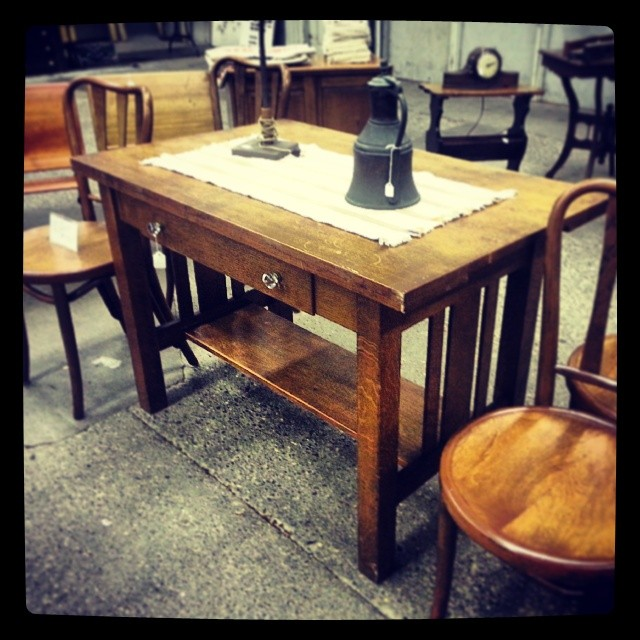 #antiquespectacularshow&fleamarket #statefairgrounds #iwantthat #craftsmanlibrarytable