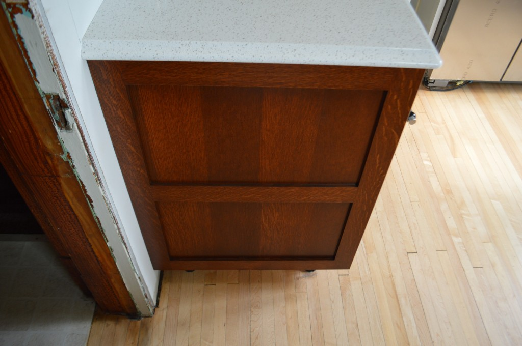 Cabinet cover panels
