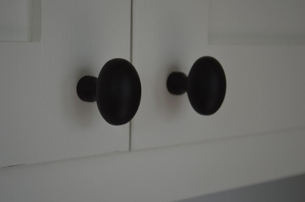 Oil rubbed bronze egg knobs